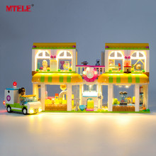 MTELE Brand LED Light Up Kit For Friends Heartlake City Pet Center Lighting Set Compatile With 41345 (NOT Include The Model) цена 2017