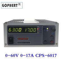 Steady Gophert CPS 6017 DC Switching Power Supply Single Output0 60V 0 17A 1000W adjustable