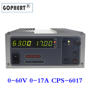 Image 1 - Steady Gophert CPS 6017 DC Switching Power Supply Single Output0 60V 0 17A 1000W adjustable