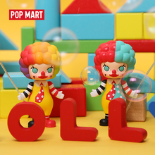 POP MART Molly Carriera di arte giocattoli figura Casuale scatola regalo Cieco scatola Action figure Regalo di Compleanno Del Capretto del Giocattolo di trasporto libero