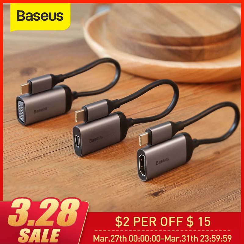 Baseus USB C HUB To 3.0 HDMI USB Type C HUB For MacBook Pro Multi USB HUB Forhuawei USB HUB Computer Accessories USB Splitter