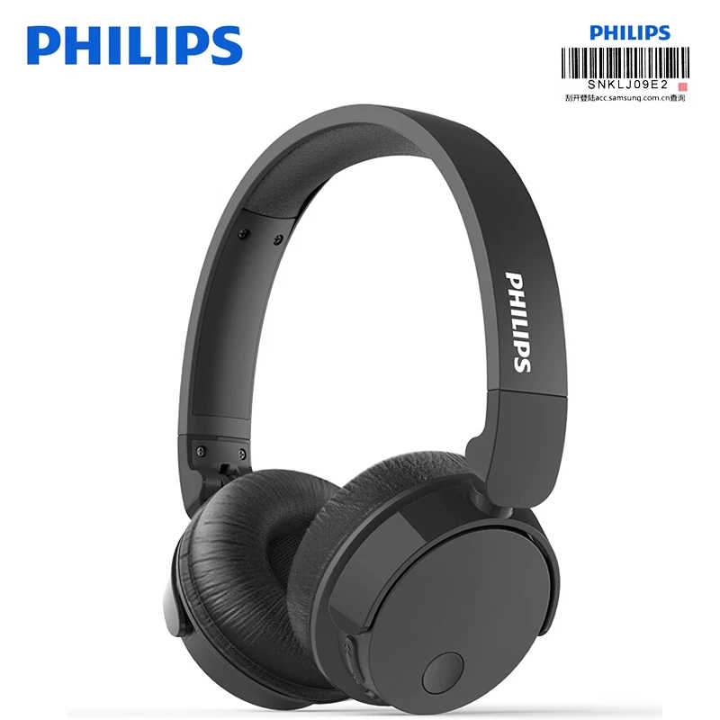 Philips Original Tabh305 Wireless Anc Headphone Bluetooth 4 2 Bass Headset With Hd Mic Foldable Support Official Verification Aliexpress