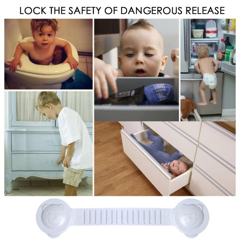 Child Lock Protection Of Children Locking Doors For Children's Safety Kids Safety Plastic Protection Safety Lock Baby Protector