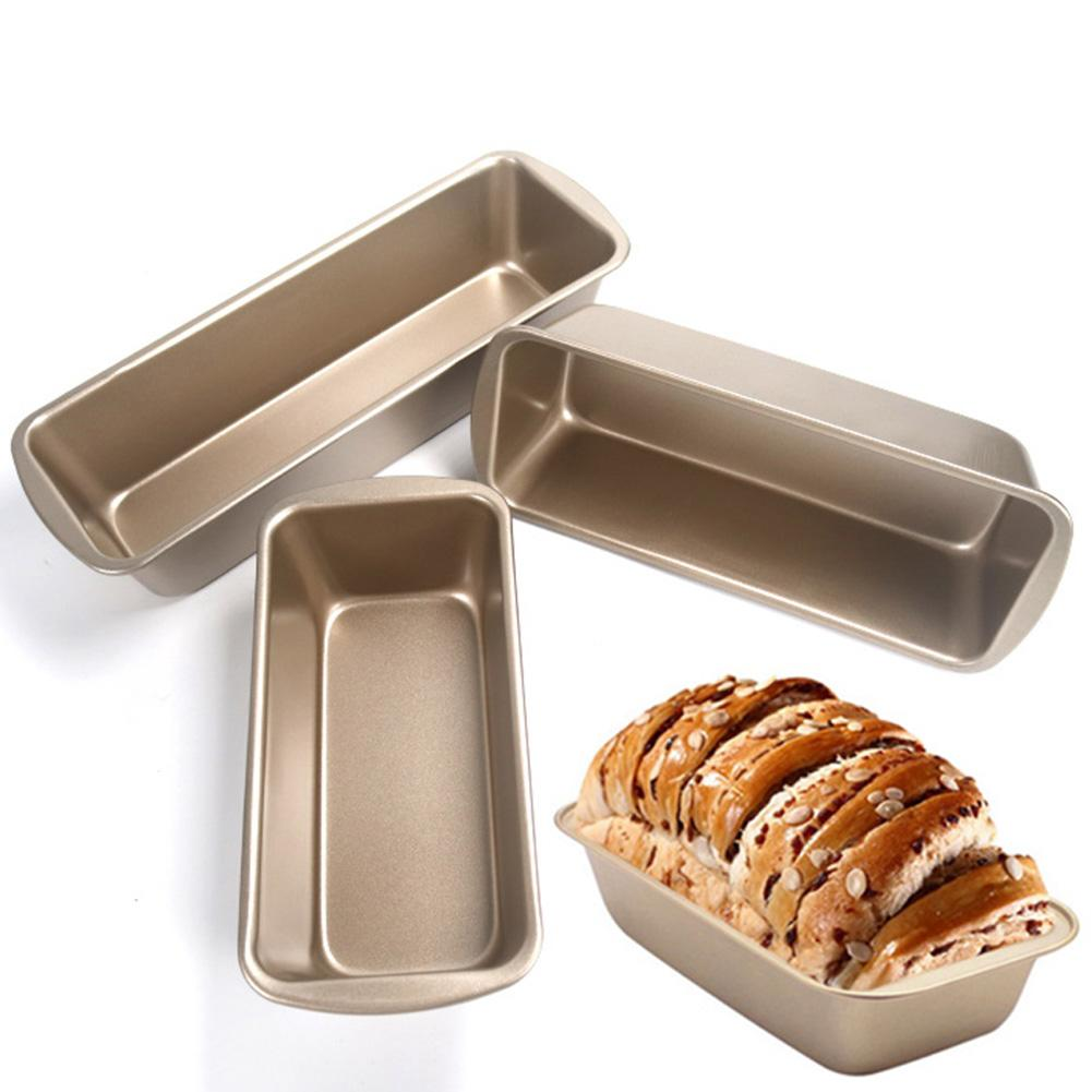 Carbon Steel Rectangular Non-stick Toast Box Bread Loaf Pan Mold Cake Mold DIY Baking Tool Bakeware Kitchen Accessories