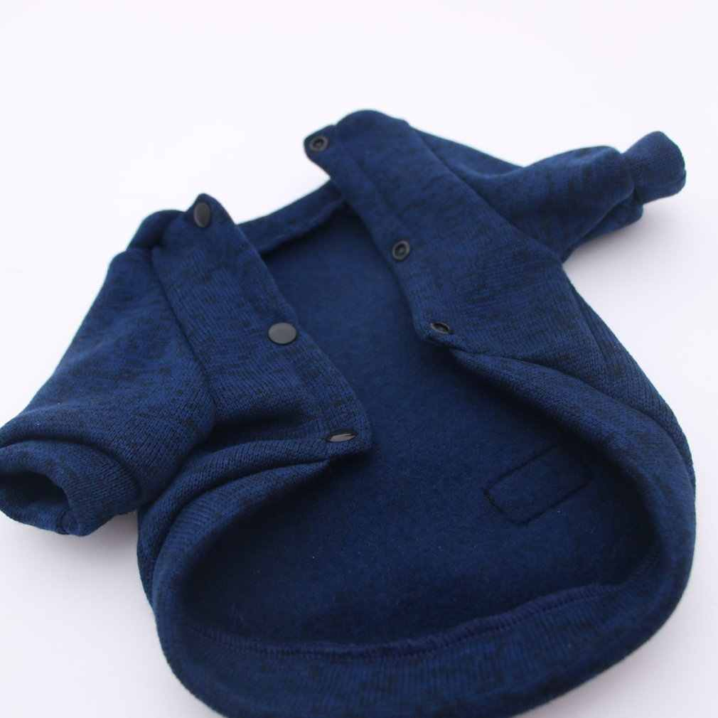 Autunno e inverno i vestiti dell'animale domestico vestiti del cane del modello lisca di pesce di piccole e medie cani due piedi maglione pet abbigliamento