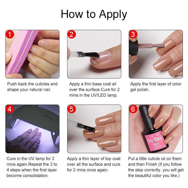 Arte Clavo 6w UV LED Lamba Tırnak Kurutucu Taşınabilir USB Ev Kullanımı Jel Oje Kurutma Mini USB Pembe beyaz LED UV Lambaları Tırnak Sanat Araçları