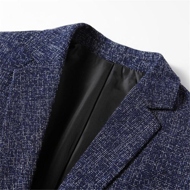 Мужской деловой костюм серый 5