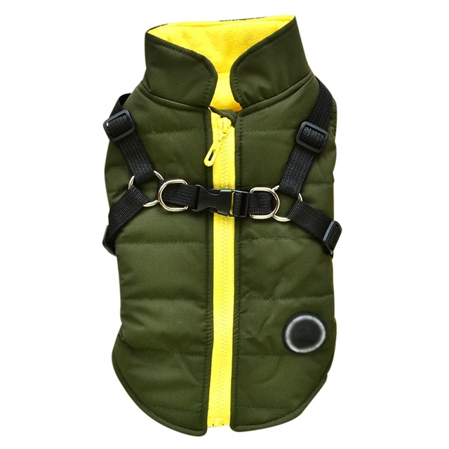 Dog Vest With Harness 4