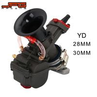 Motorcycle YD28 YD30 Carburetor Carburador For Honda Monkey ATV Quad Go Kart Universal Maikuni PWK Scooters With Power Jet