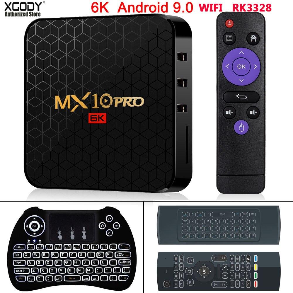 XGODY 2020 Newest 6K TV BOX Android 9.0 Pro Allwinner H6 Quad Core 4GB 32GB 64GB HD Media Player 2.4G WIFI Smart Set Top BOX