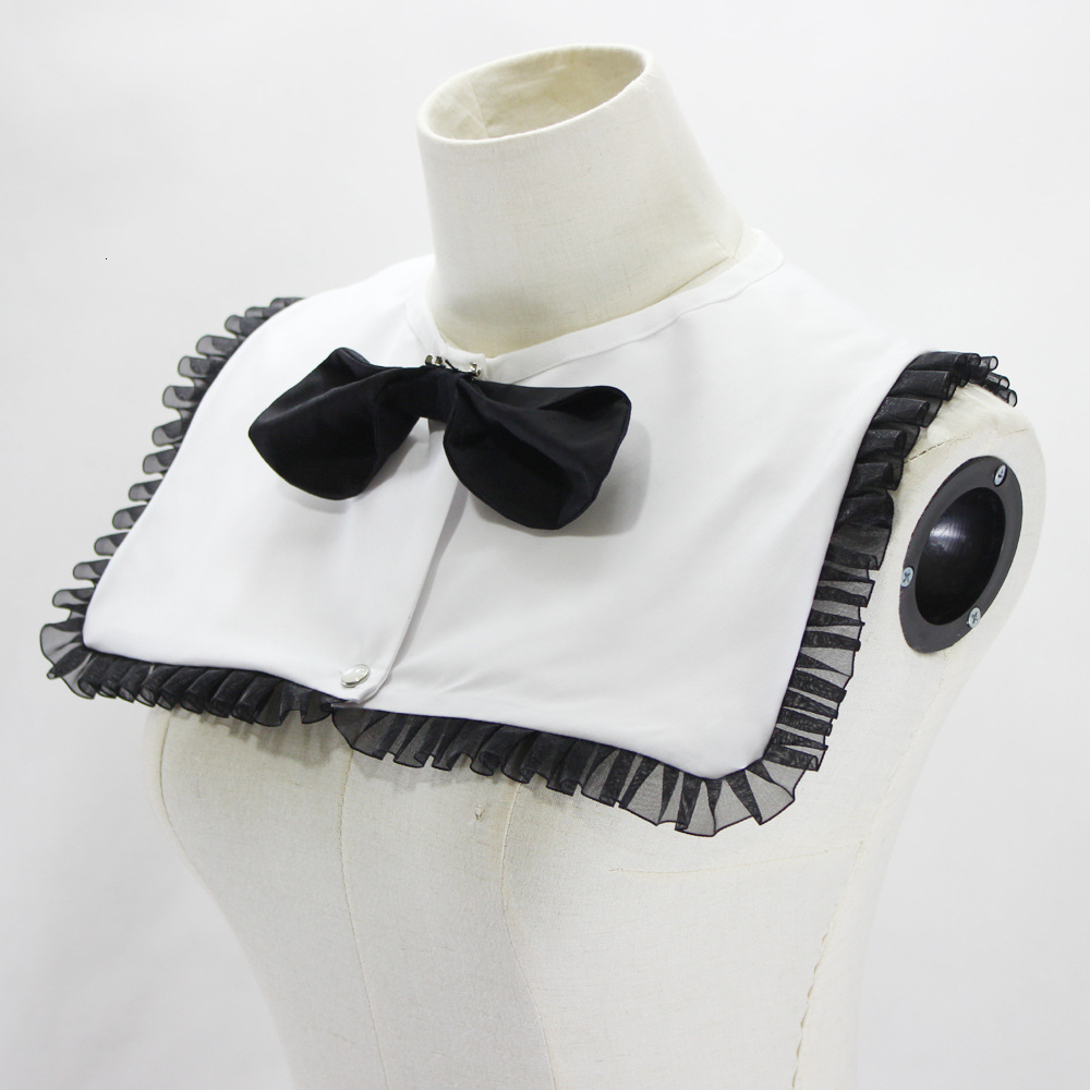 Black White Navy Dickie Shirt Women Girl Decoration Lead Fake Collar Detachable New Free Shipping Wholesale