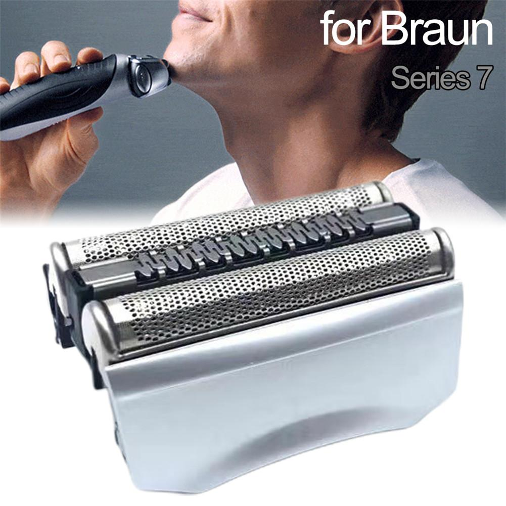 Replacement Shaver Head Electric Shaver Accessory For Braun Series7 70B 70S Shaver ABS + Stainless Steel Material
