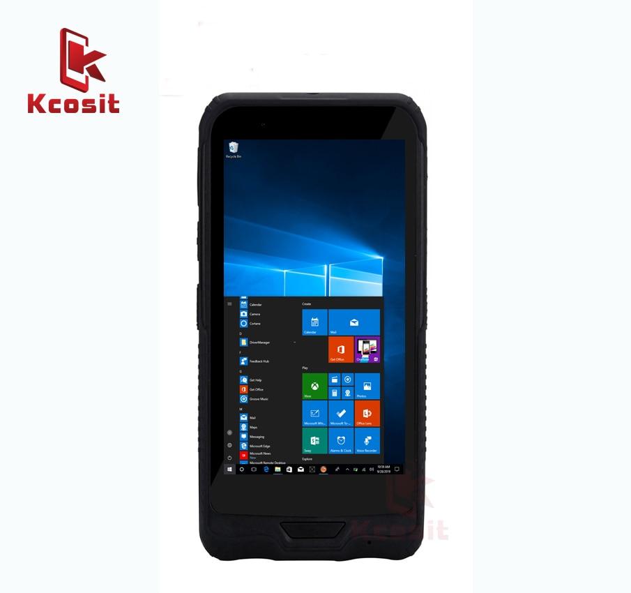 Original K62H Mobile Tablet PC Windows 10 Waterproof Shockproof Computer 6 Inch Intel Z8350 Dual Band Wifi GPS Single SIM GPS