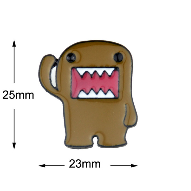 1pc Cartoon Lapel Badge Pin Sailor Moon Garfield Domo Kun Kumamoto Anime Cartoon Characters Brooch Pin For Gift Brooches Aliexpress