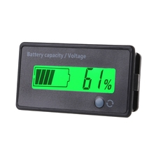DC 12V-84V Lead-acid Battery Capacity Indicator Voltage Meter LCD Voltmeter Monitor