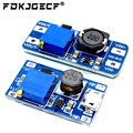 MT3608 DC-DC Step Up усилитель конвертера Питание модуль Boost повышающий доска Макс выход 28В 2A для arduino