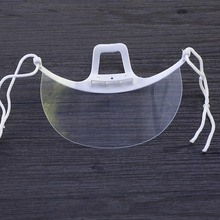 1/2 pcs Plastic Clear Safety Grinding Face Shield Screen Mask Face Mask dental Anti-Dust Face Surgical Masks Health Care