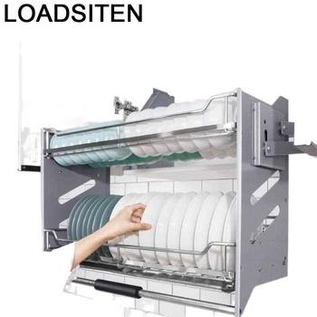 Kuchnia Cestas Para Colgar En La Ducha Organizador spiżarnia ze stali nierdzewnej wiszące Kuchnia Cocina szafka kuchenna kosz tanie i dobre opinie LOADSITEN CN (pochodzenie) Metal