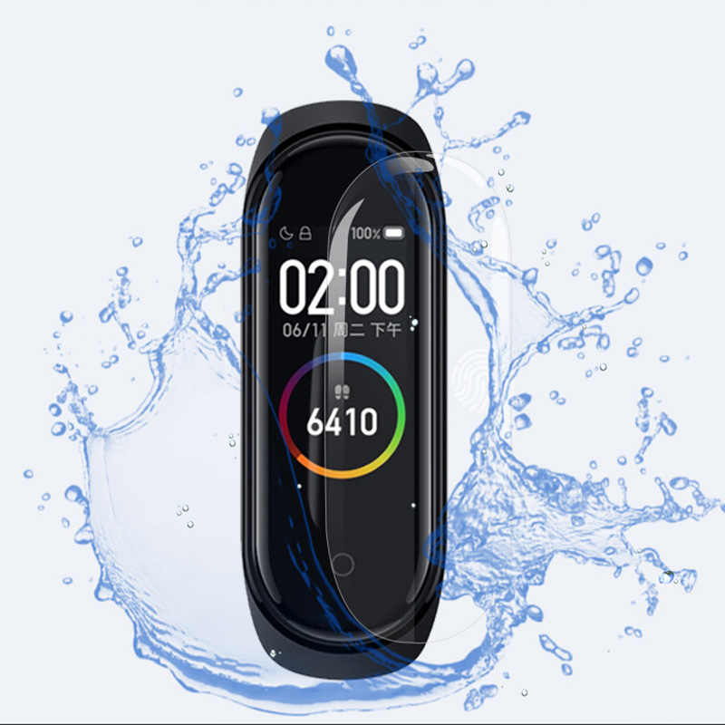 1pcs Frosted film Protective Film High-Definition Explosion-Proof Tough Tempered Film For Xiaomi Mi Band 4 Smart Bracelet
