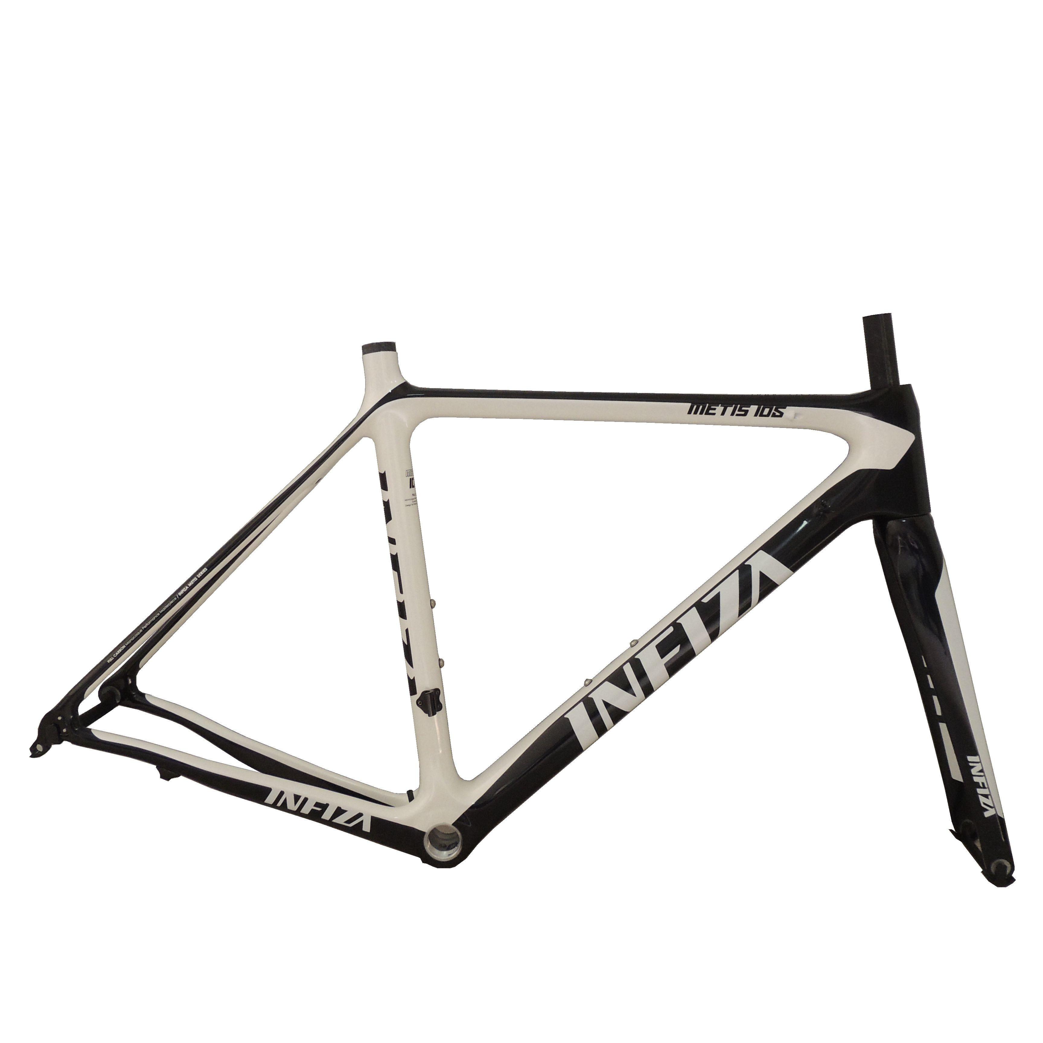 New High Quality 700c Carbon Frame Super Light Inner Carble Road Bike Frame 51cm 52cm 54cm Full Carbon Bicycle Frame With Fork