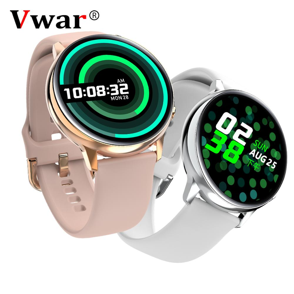 Vwar Full Touch AMOLED 390*390 HD Screen Smart <font><b>Watch</b></font> ECG Wireless Charing IP68 Waterproof Heart Rate <font><b>BT</b></font> 5.1 Men Women Smartwatch image