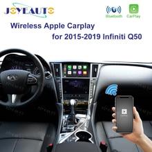 Joyeauto אלחוטי Apple Carplay עבור אינפיניטי 8 אינץ מסך 2015 2019 Q50 Q60 Q50L QX50 אנדרואיד אוטומטי רכב לשחק וידאו ממשק