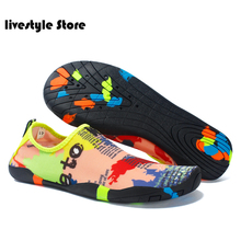 Sneakers Beach-Shoes Loafers Male Water-Slip-On Breathable Summer Light for Men Outdoor