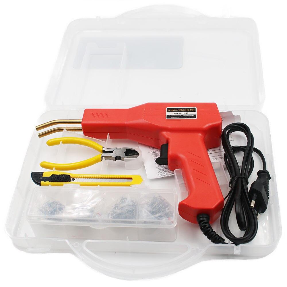 Tools : Plastic Welder With Staples Garage Tools Hot Staplers Machine Staple PVC Plastic Repairing Machine Car Bumper Repair