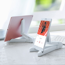 for IPhone IPad Mini 1 2 3 4 Air Pro Foldable Phone Tablet Stand Holder Adjustable Desktop Mount Stand Tripod Table Desk Support цена и фото