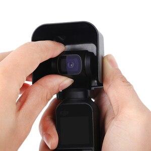 Image 4 - Lens kapağı koruyucu kapak güneş Hood güneşlik koruyucu güvenlik parlama kalkanı kasa el Gimbal aksesuarları DJI Osmo cep