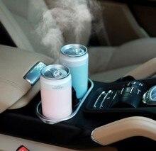 Дезинфекция автомобиля емкость увлажнитель воздуха USB аккумуляторная беспроводной ультразвуковой аромат туман диффузор домашний свет Humidificador