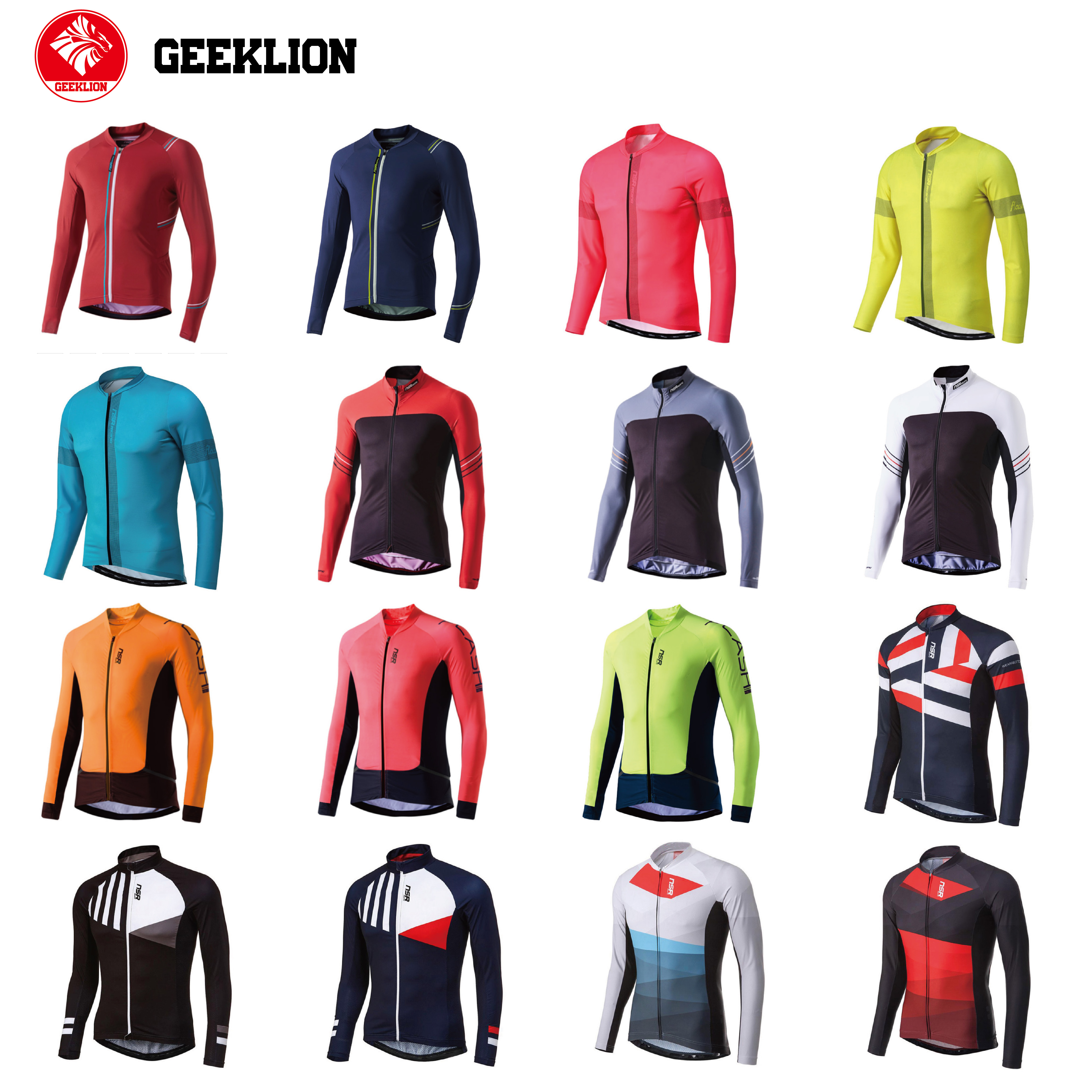 2021 Long Sleeves NSR Cycling jersey short sleeve jersey MTB road bike shirt maillot ciclismo roupa de ciclista Manga corta
