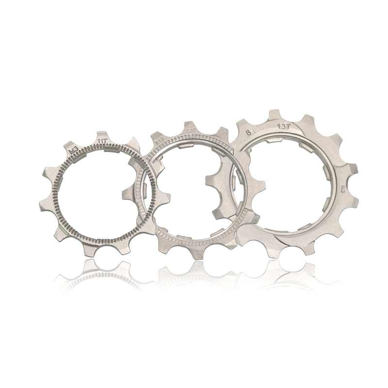 Silvery Ztt0 1Pcs Replacement Bicycle Cassette Cog Road Bike MTB 8 9 10 11 Speed 11T 12T 13T Freewheel Parts for Ztto K7 Parts