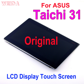 13.3  Original Replacement LCD For ASUS Taichi 31 LCD Display Touch Screen 1920*1080 A B Case+Frame Assembly TAICHI31