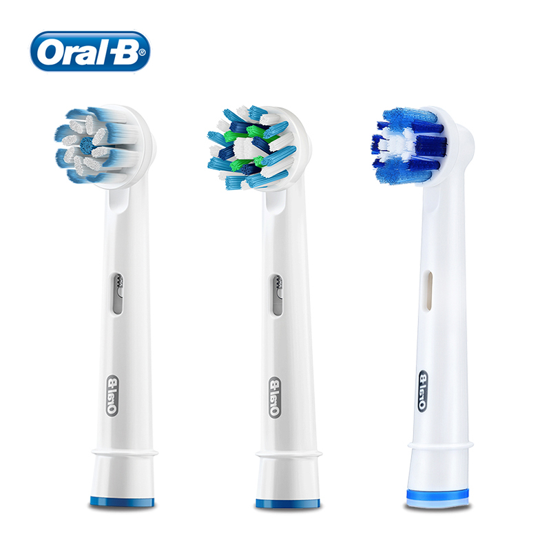 Oral B Replacement Toothbrush Head For Vitality Electric Toothbrush Remove Plaque Deep Clean Teeth