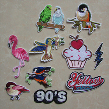 Embroidery Patches Clothing-Accessory Adhesive Applique Stripes Patter 13 Mixture Kind