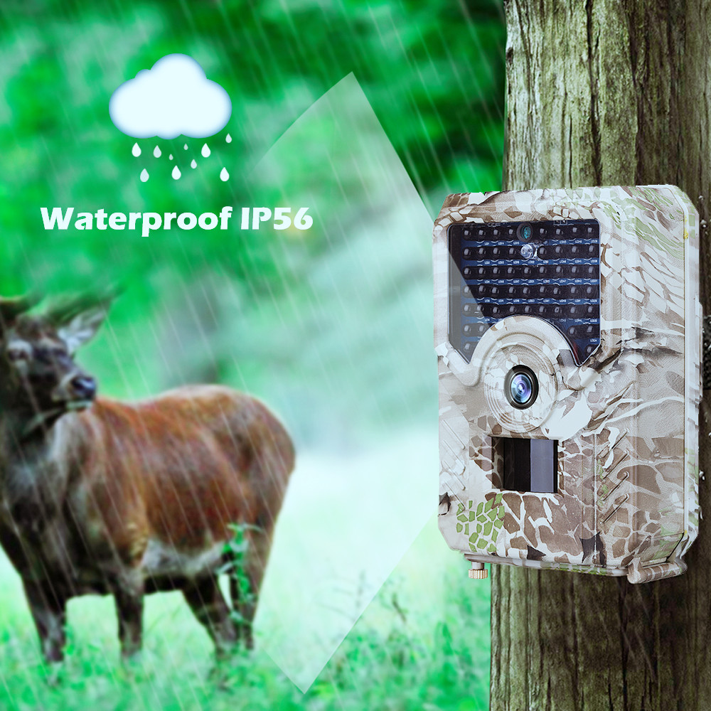 Foto Kapan Trail Animal Camera 940nm Night Vision Outdoor Waterproof 1080p Wildlife Photo Traps  Hunting
