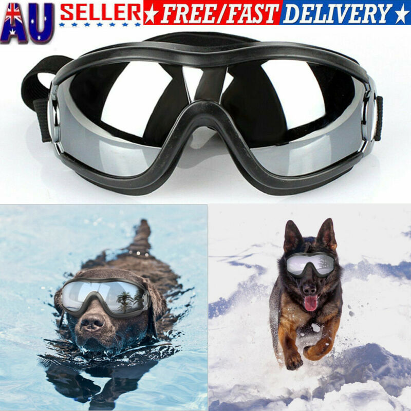2020 HOT Adjustable Pet Dog Goggles Sunglasses Anti-UV Sun Glasses Eye Wear Protection Waterproof Sunglasses Pet Dog Supplies