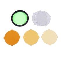 Godox AK R16 Filtros redondos de Color para Godox H200R cabeza redonda de Flash, Compatible para Godox AD200,AD200 pro,V1 S V1 N
