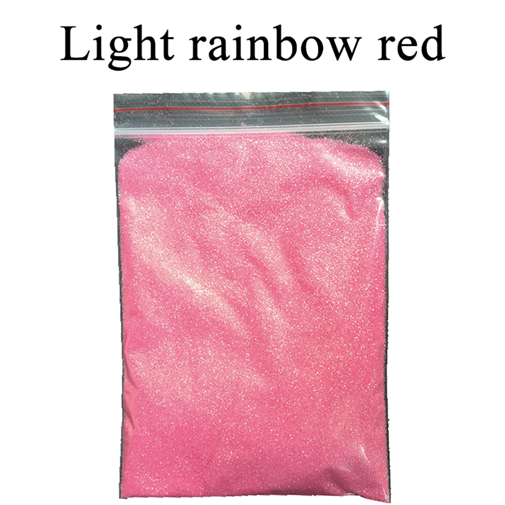 Collorful glitter light rainbow red  applied in printing ink paint cosmetics plastic leather handicrafts ornaments toys coating