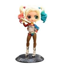 цена на Anime Figure Superheroes Q posket Wonder Woman Harley Quinn Joker Superhero PVC Anime Figurines Collectible Dolls Kids Toys