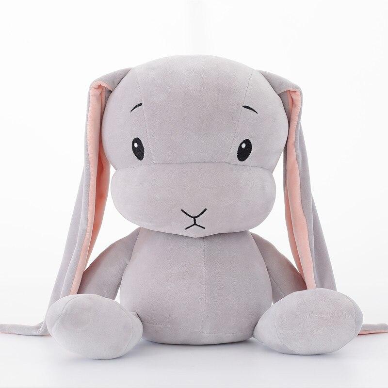 30 cm coelho bonito brinquedos de pelúcia coelho recheado & pelúcia animal brinquedos do bebê boneca bebê acompanhar presentes de brinquedo do sono para crianças wj491