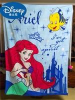 Disney cotton princess big bath towel blanket cute cartoon towel quilt boy girl baby air conditioning blanket gift 190x140cm