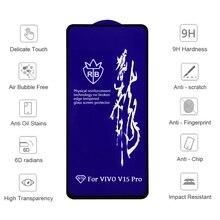 2pcs 6D Temper Glass for VIVO  V17 X30 PRO Y11 Z6 Screen Protector Tempered Glass for Vivo S6 IQOO 3 10pcs 6d temper glass for vivo v17 x30 pro y11 z6 screen protector tempered glass for vivo s6 iqoo 3