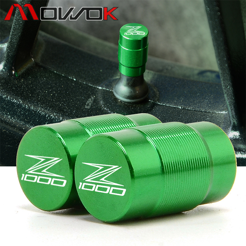 For <font><b>KAWASAKI</b></font> Z1000 <font><b>Z1000SX</b></font> ninja 1000 Tourer 2006-2017 2018 <font><b>2019</b></font> Car Accessories Tire Valve Caps Tyre Wheel Stem Air Valve Caps image