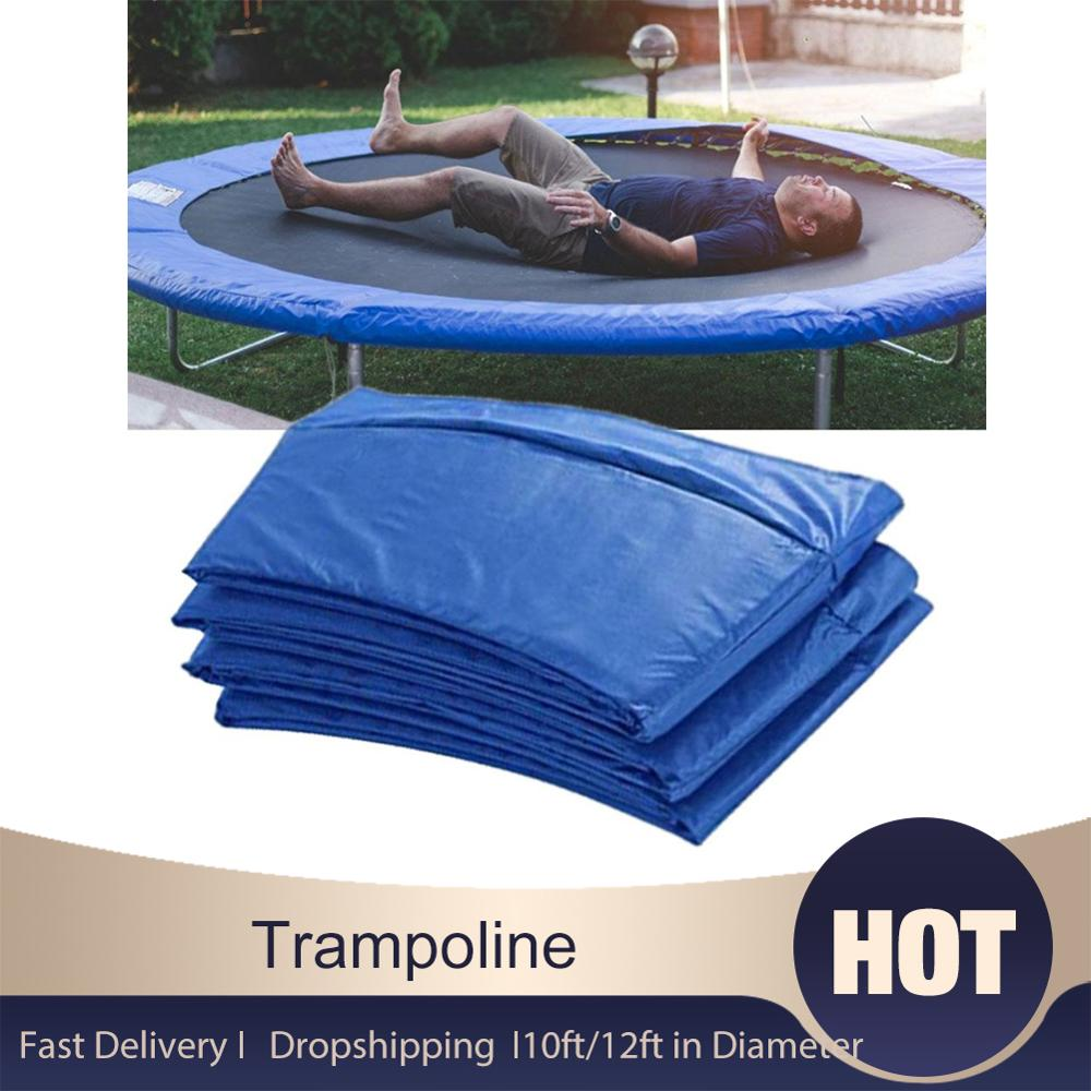 10ft/12ft in Diameter Trampoline Edge Cover Spring Cover UV Resistant Edge Protector Safety Waterproof PVC Safety Pad trampoline|Trampolines|   - AliExpress