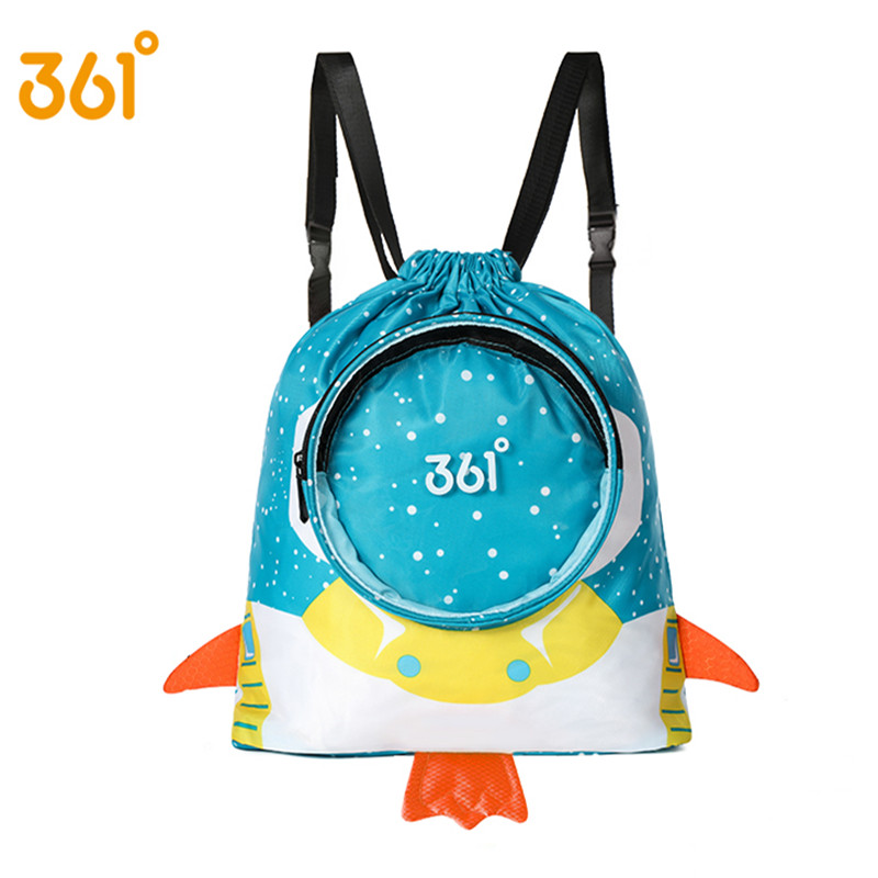 361 Kids Waterproof Backpack Children Sports Beach Bag Boys Girls Swimming Backpack Astronaut Swim Bags Dry Wet Pool Outdoor