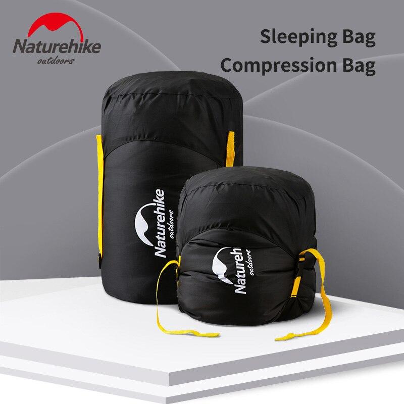 Naturehike спальный мешок компрессионный мешок 300D Оксфорд водонепроницаемый мешок для хранения спальный мешок многофункциональный компрессио...