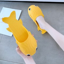 Super Low Price Women Fish Shape Slippers Flat Beach Slipper Fashion Comfortable Home Slippers Shoes Women Casual Sandals(China)