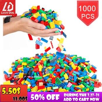 200-1000 Pcs Blocchi di Costruzione FAI DA TE Creativo di Mattoni Modello Costruttore Educativi Giocattoli Per Bambini 1